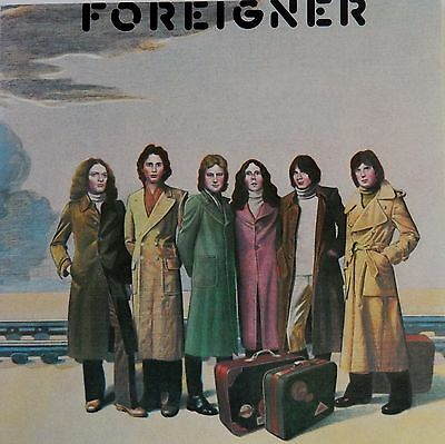 FOREIGNER Self-Titled (CD 1995) 1977 Classic Debut 1st Album Remastered 10 Songs