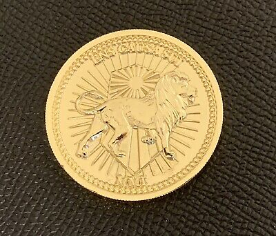 John Wick Continental Hotel Gold Coin Replica!Highest Quality!