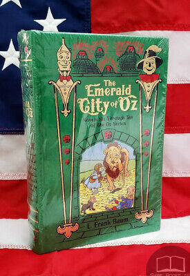 NEW SEALED The Emerald City of Oz: Novels 6 - 10 Bonded Leather Wizard of Oz