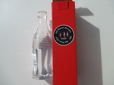 2017 Australia Coca Cola Collectors Club 13th National Convention CRYSTAL bottle