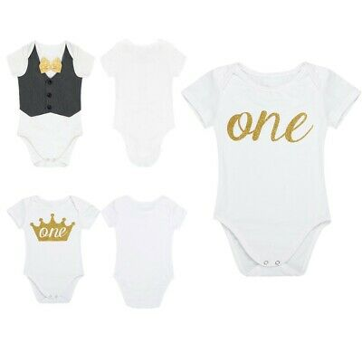 Newborn Infant Baby Boys Romper Jumpsuit Bodysuit Summer Clothes Outfits Sets