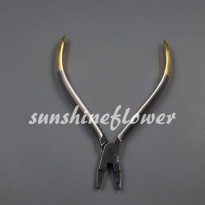 Orthodontic Dental Instruments Crimpable Hook Placement Plier Stainless Steel