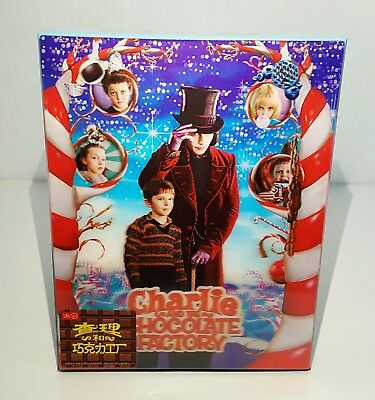 CHARLIE AND THE CHOCOLATE FACTORY Blu-ray STEELBOOK [HDZETA] LENTICULAR #006/500