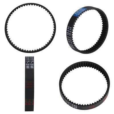 Safe Toothed Planer Drive Belt for Black And Decker KW715 KW713 BD713 Rubber