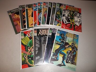 Green Arrow #52-65 (Complete lot of 14) 1988 DC series
