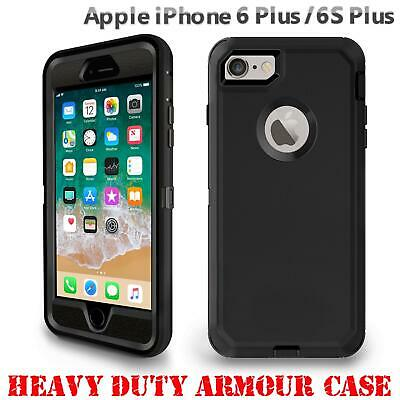 For iPhone 6s Plus Tough Armour Case Hard Front Back Shockproof Heavy Duty Cover
