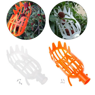 Plastic Fruit Picker Without Pole Fruit Collector Gardening Picking Tool NEW