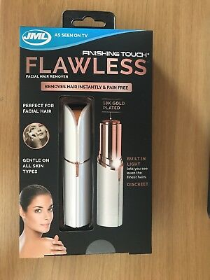 JML Finishing Touch Flawless The Gold-Plated, Discreet Hair Remover You Can Use