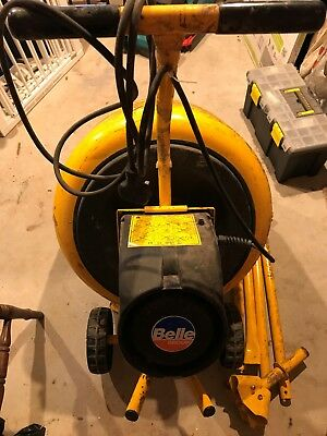 Belle Minimix 130 Concrete Mixer / Cement Mixer, 230v, used domestically only