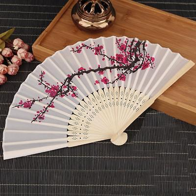 Stylish Cherry Blossom Fans Asian Wedding Favor Gift Party Reception Folding