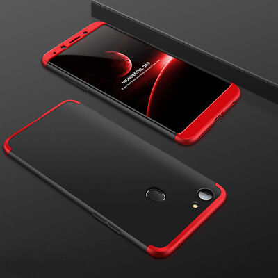 360° Full Body Bumper Shockproof Cover Tough Case+Tempered Glass For OPPO A73 F5