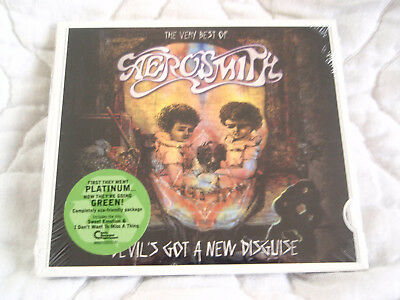 The Very Best Of Aerosmith Cd Devil's Got A New Disguise Eco-Friendly Digipak