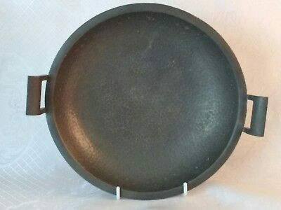 Travis and Wilson pewter dish