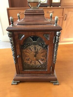 Warmink Mantle Bracket Shelf Clock moonphase Wuba Mechanism