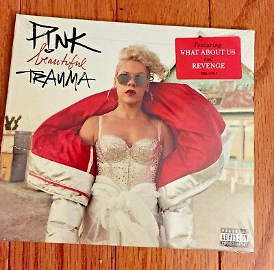 FACTORY SEALED Beautiful Trauma by Pink (CD Oct-2017 RCA) Revenge What About Us