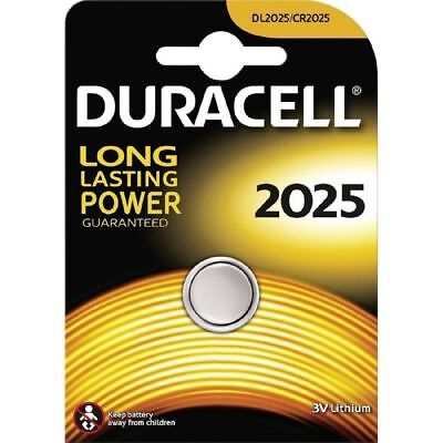 1 x Duracell CR2025 3V Lithium Coin Cell Battery 2025, DL2025, BR2025, SB-T14