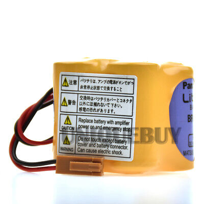 BR-2/3AGCT4A for Fanuc A98L-0031-0025 PLC battery with Brown plug 4400MAH