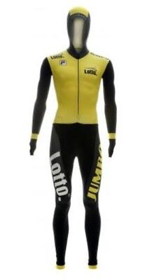 Lotto Jumbo Speed Skating Suit Skinsuit Speedsuit Sprintsuit Rubber Medium