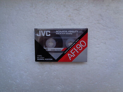 Vintage Audio Cassette JVC AFI-90 * Rare From Korea 1990 *