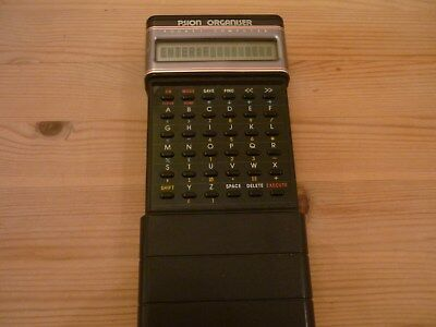 Original Psion Organiser 1 One Pocket Computer with data packs.EXCELLENT