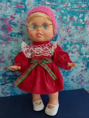 Galoob Baby Face Doll So Innocent Cynthia In Vintage Antique Outfit