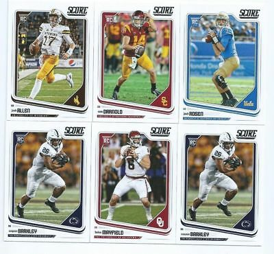 2018 Score Football RC * Base ROOKIE CARD * You Pick - Complete Your Set