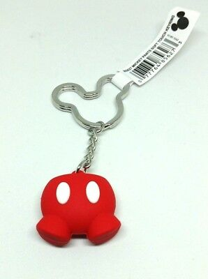 Mickey Pants Key Chain Ring ICON Authentic DISNEY collectible NWT Mickey Head