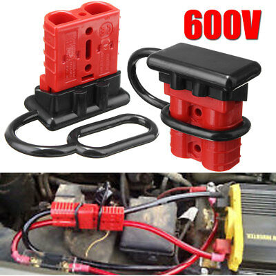 50A Battery Quick Connect Disconnect Wire Harness Plug battery cable quick connect kit wire harness plug connect disconnect