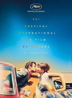 "Cannes Film Festival 2018 Poster International Event Print 13x20"" 27x40"" 32x48"""