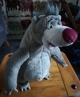 official Disney interactive talking baloo bear jungle book soft toy plush