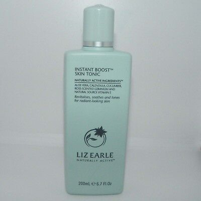 LIZ EARLE Instant Boost Skin Tonic 200ml Full Size NEW for Radiant-looking Skin