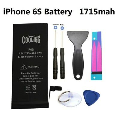 """1715mAh Li-ion Internal Battery Replacement For Apple iPhone 6s 4.7"""" +Tools"""