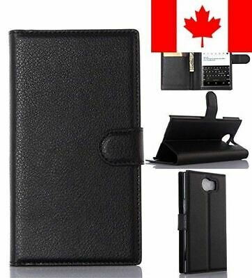 BlackBerry Priv Phone Case, Gift_Source [Black] [Stand Feature] Magnetic Snap...