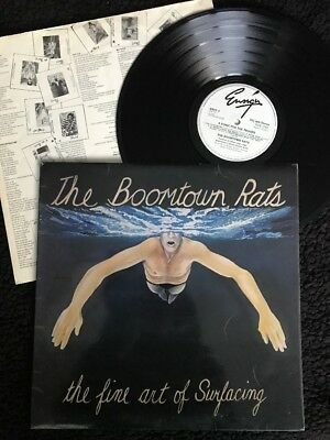 The Boomtown Rats The Fine Art Of Surfacing Vinyl Lp