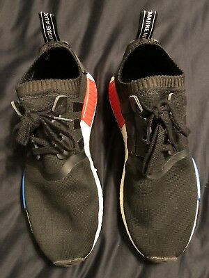 save off 46995 1a0a5 adidas NMD R1 pk OG 2017 release - Black   White   Blue   Red -
