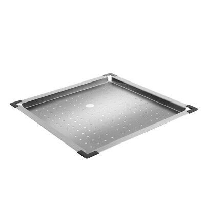 Cefito Stainless Steel Double Sink & Colander