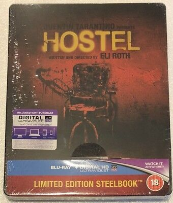 Hostel Steelbook - UK Exclusive Limited Edition Blu-Ray