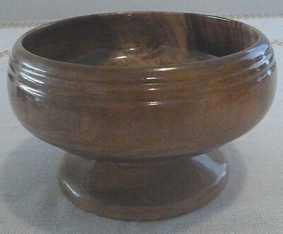 Hand Turned Camphor Laurel Wooden Fruit Bowl - Made Port Macquarie NSW