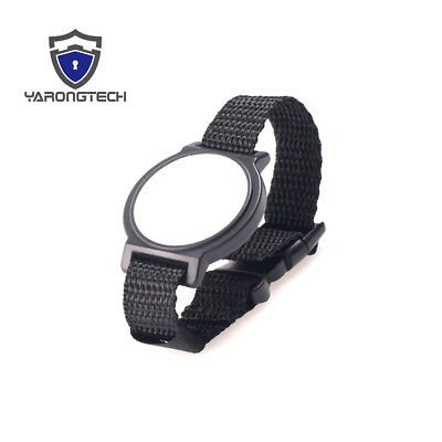 10 PCS Waterproof ISO 14443A adjustable 13.56mhz rfid nylon wristband
