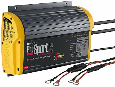 New ProMariner ProSport 12, 2 Bank, Battery Charger - NEW
