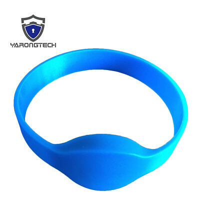 5 PCS waterpoof Writable rewrite 125khz duplicator silicone rfid T5577 wristband