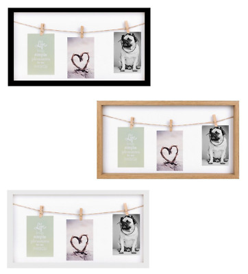 3 PEGS PICTURE Frame 3 Clips Washing Line Design Photo Frame 4\