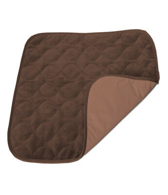 Velvet Chair Protector Pad - Brown: MHVCPBR By MOBB Health Care