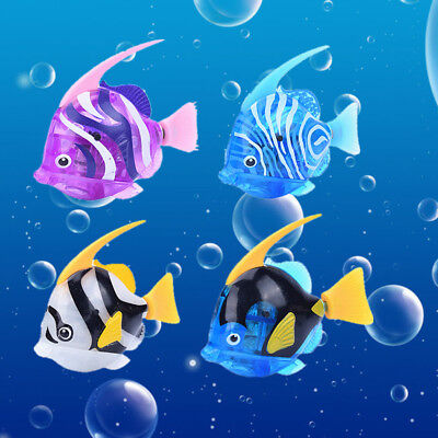 Swimming Robot Fish Activated In Water Magical Electronic Toy Kids Children Gift
