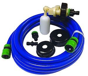 Caravan Mains Water Universal Fill Adaptor Food Hose Aqua Roll Waterhog 10 metre