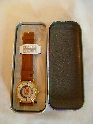 Lionel Collectible Train Watch in decorative tin moving