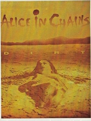 Alice in Chains - Dirt. Vintage Postcard. FREE INTERNATIONAL SHIPPING
