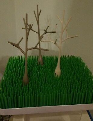 Boon Baby Bottle Drying Rack Station Flower Twig Grass