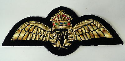 Royal Air Force Gold Bullion Pilot Wings