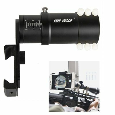 Rifle Scope Smartphone Mount System Adapter for Phone Camera Mount Best Black